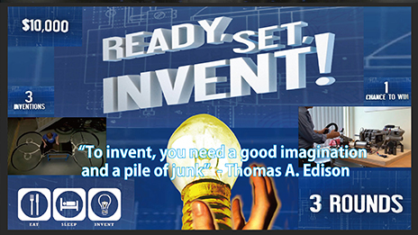 Ready, Set, Invent!