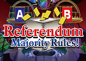 Referendum ? Majority Rules!